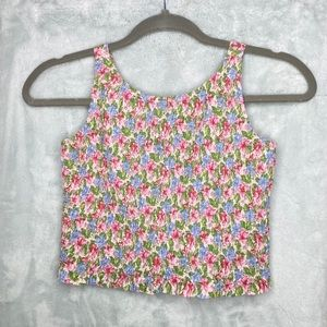 GAP kids top / floral / size: M